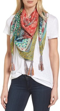 Johnny Was Women's Annabelle Silk Square Scarf