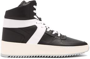 Fear Of God High-top leather trainers