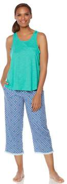 Karen Neuburger KN Cool by Summer Breeze Tank/Capri Pajama Set