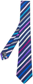 Paul Smith striped woven tie