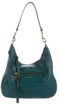 Marc Jacobs Grained Leather Hobo - BLUE - STYLE