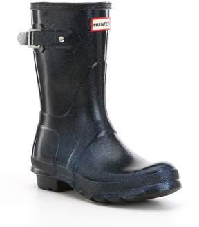 Hunter Womens Original Starcloud Short Buckle Detail Rain Boots