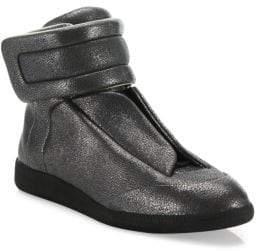 Maison Margiela Stingray Future Calf Leather High-Top Sneakers