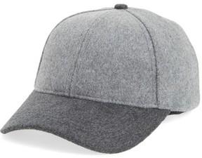 Sole Society Women's Two-Tone Baseball Cap - Grey