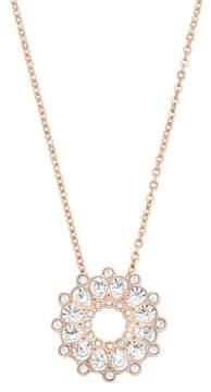 Swarovski 18K Rose Gold Plated Asset Crystal Pendant Necklace