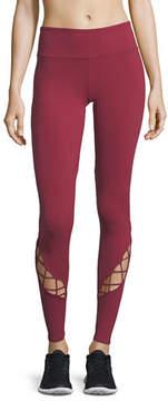 Alo Yoga Entwine Lace-Up Full-Length Leggings