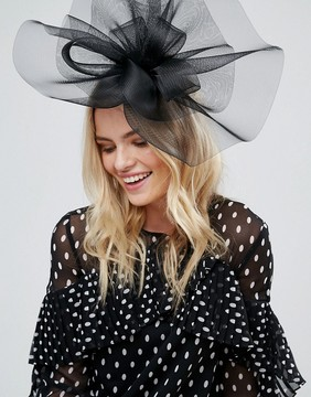 Coast Mia Black Fascinator