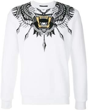 John Richmond print collar sweatshirt