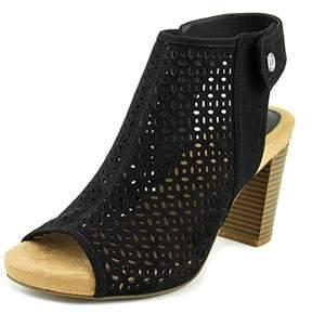 Giani Bernini Joiseyy Women Open Toe Synthetic Black Platform Sandal.