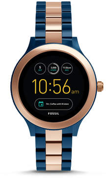 Fossil Gen 3 Smartwatch - Q Venture Rose Two-Tone Stainless Steel