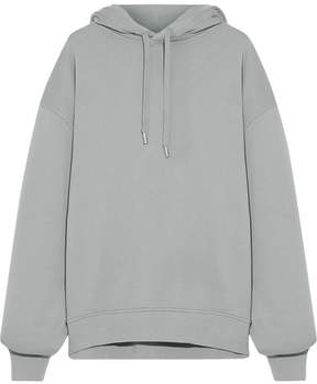 Acne Studios Yala Oversized Cotton-jersey Hooded Top - Stone