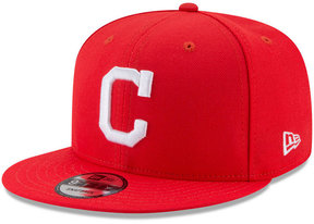 New Era Boys' Cleveland Indians Players Weekend 9FIFTY Snapback Cap