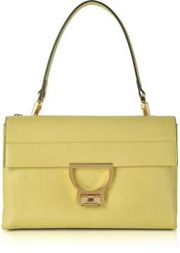 Coccinelle Banane Pebbled Leather Arlettis Shoulder Bag
