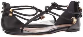 Alexander McQueen Strappy Leather Sandals Women's Sandals