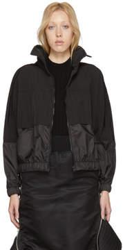 Kenzo Black Logo Windbreaker Jacket