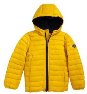 Joules Boy's Packaway Hooded Jacket