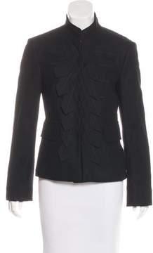Strenesse Embellished Mandarin Collar Jacket