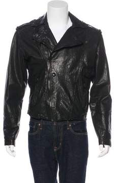 Public School Moto Leather Jacket
