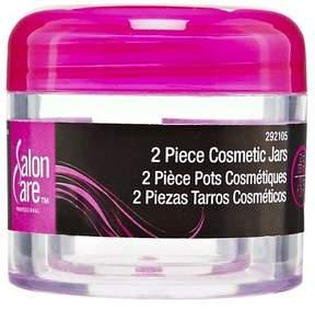 Salon Care Clear Cosmetic Jars