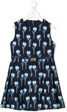 Versace tulip print dress