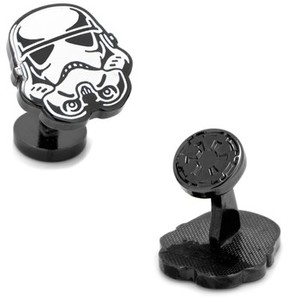 Cufflinks Inc. Men's Cufflinks, Inc. Star Wars Glow In The Dark Stormtrooper Cuff Links