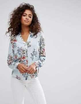 Esprit Floral Stripe Shirt