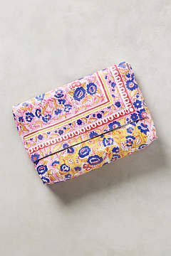 Anthropologie Printed Paisley Clutch