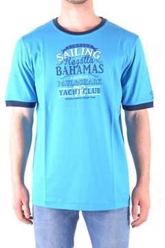 Paul & Shark Men's Light Blue Cotton T-shirt.