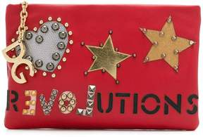 Dolce & Gabbana Revolutions clutch - RED - STYLE