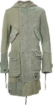 Greg Lauren antique duffle parka