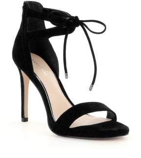 Gianni Bini Jordie Suede Ankle Tie Dress Sandals