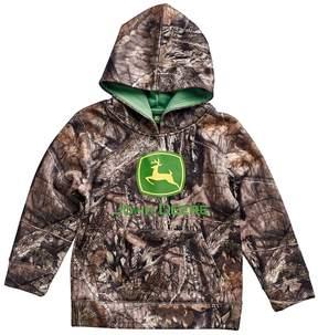 John Deere Boys 4-7 Camouflaged Logo Hoodie
