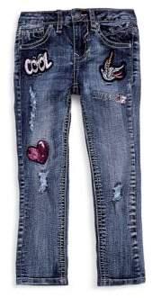 Vigoss Little Girl's Cool Distressed Jeans