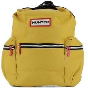 Hunter Women's Yellow Fabric Backpack.