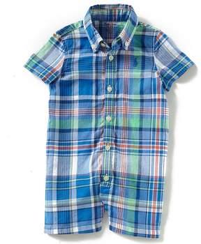 Ralph Lauren Baby Boys 3-12 Months Short-Sleeve Madras Shortall