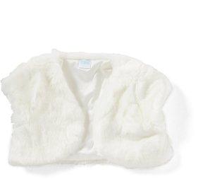 Edgehill Collection Little Girls 2T-6X Faux-Fur Bolero Cardigan