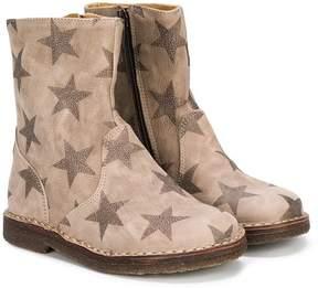 Pépé stars print boots