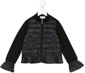 Moncler padded front jacket