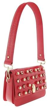 Roberto Cavalli Milano Bag Medium Milano Rmx 0 Red Shoulder Bag.