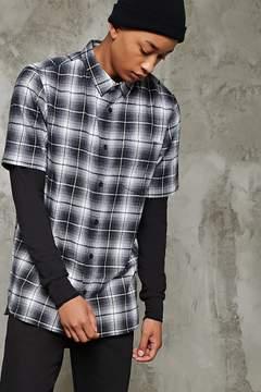 21men 21 MEN Slim-Fit Flannel Shirt