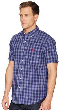 U.S. Polo Assn. Check Woven Shirt Men's Clothing