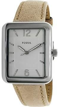 Fossil Women's Atwater ES4243 Tan Leather Quartz Fashion Watch