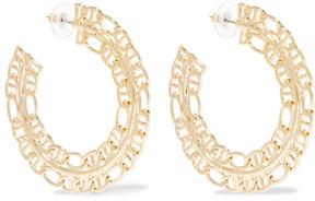 Dannijo Hawk Gold-plated Earrings