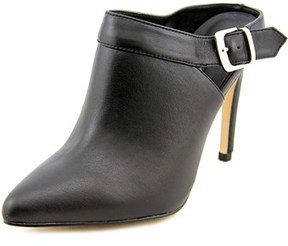 Kensie Foster Women Pointed Toe Leather Black Ankle Boot.