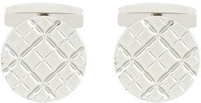 HUGO BOSS engraved pattern cufflinks