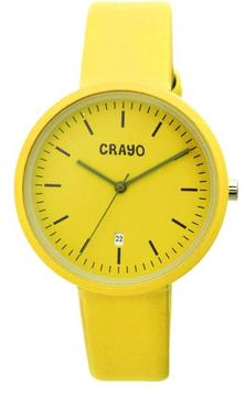 Crayo Easy Collection CRACR2405 Unisex Watch with Leather Strap
