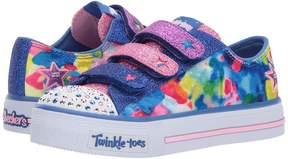 Skechers Twinkle Toes: Shuffles 10846L Lights Girl's Shoes