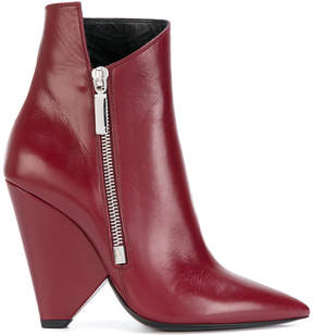 Saint Laurent Niki 105 ankle boots