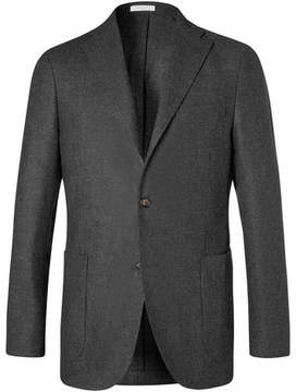 Boglioli Charcoal K-Jacket Slim-Fit Wool Blazer