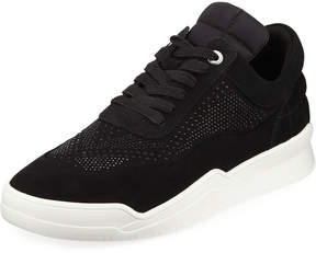 Karl Lagerfeld Paris Men's Studded Mid-Top Platform Sneakers